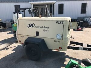 2011 Ingersoll rand P185wjd Air Compressor