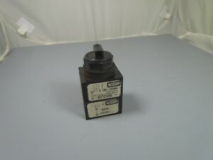 Hubbell 3 Position Selector Switch Insert Mss3lcr 80321 302 Nos