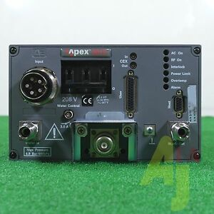Ae Rf Generator Apex 3013 3kw 13 56mhz Expedited Shipping