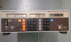 Marconi Instruments 80khz 520mhz Signal Generator 2018 Does Power Up