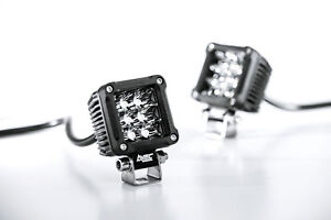 2 Inch 18w Spot Cree Led Offroad Cube Lights For Truck 4wd Atv 4x4 Dually Pods
