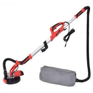 Adjustable Electric Drywall Sander W Vacuum And Led Light