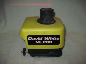 David White Ml200 Rotary Laser Level