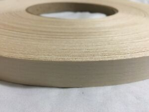Maple Non Glued 2 x100 Wood Veneer Edge Banding