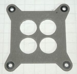 4777 4778 4779 4780 Holley 1 4 Insulating Base Gasket Reinforced Corner Run Cool