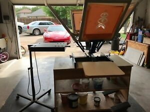 T Shirt Screen Printer And Accessories