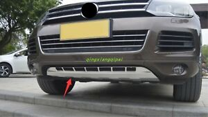 Stainless Bumper Fit Front Rear Board Guard For Volkswagen Touareg 2011 2017