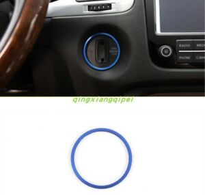 Blue Auto Start The Circle The Ignitio Key Ring For Volkswagen Touareg 2011 2017