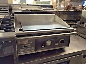 27 Keating Miraclean Gas Griddle 27x24