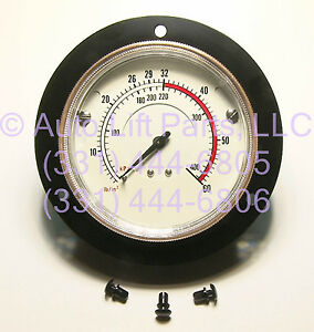 Flange Mount Air Inflation Gauge For Coats Tire Changers 107985