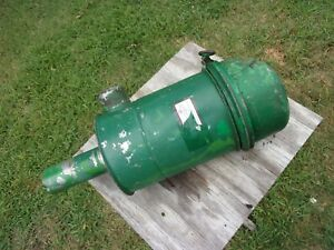 John Deere Tractor Dozer Crawler 1010 Air Cleaner Intake Filter Oil Bath Stack