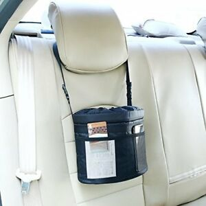 Car Waste Basket Leak Proof Trash Can Holder Litter Bin Storage Bag Organizer