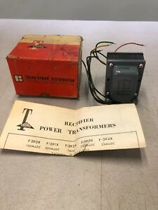 Triad F 392a Rectifier Power Transformer