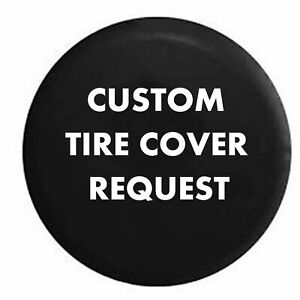 Spare Tire Cover Custom Personalized For Your Jeep Camperfor Suv Or Rv