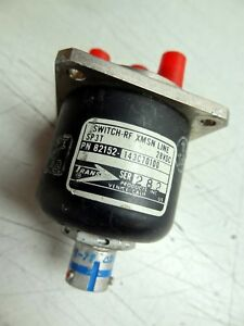 Transco Rf Switch Model 82152 143c70100 Switch rf Xmsn Line Sp3t