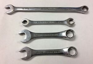 Craftsman Professional Usa 4 Pc Stubby Wrench Line Wrench 3 8 Set K Series