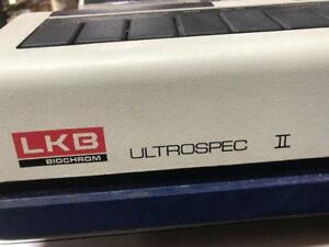 Lkb Biochrom 4050 Ultraspec Ii Uv visible Spectrophotometer