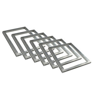 6 Pcs Pack Aluminum Screen Printing Frames 20 x24 No Mesh Diy Tool Plate Making