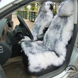 1 Piece Australia Sheepskin Car Seat Covers Real Fur Car Interior Accessories Cu