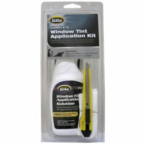 Cars Window Film Application Rubber Squeeze Lint Cloth Clutte Solution Tint Kit
