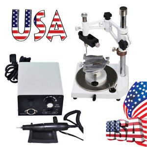 Usa Dental Lab Micromotor Polisher W 35k Handpiece Parallel Surveyor Holder A
