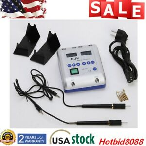 Dental Lab Digital Electric Knife Wax Carving Pencil Waxer 6 Tips 2 Pens Us Sale