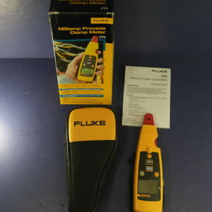 New Fluke 771 Milliamp Process Clamp Meter