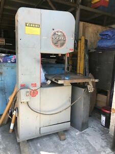 Doall 20 Vertical Band Saw Great Condition See Under Power