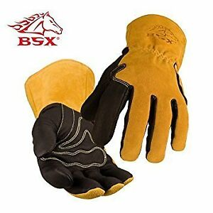Revco Industries Bm88l Bsx Bm88 Extreme Pig Skin Mig Welding Gloves Water