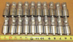Lot Of 20 Grip Crimp Gc09 8 X 8 Swivel Hydraulic Fittings