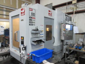 Haas Mdc 500 Cnc Machining Center W Auto Pallet Changer Coolant Thru Spindle