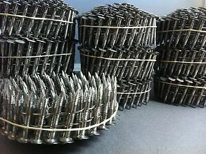 1 1 4 X 120 Ringshank 304 Stainless Steel Coil Roofing Nails 1200ct