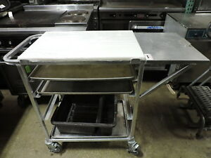 Renfro Industries Acucr Commercial Aluminum Bus Cart