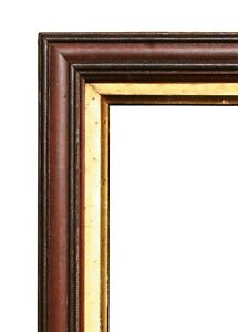 Antique Victorian Walnut Picture Frame 15 3 8 X 21 7 8 Overall