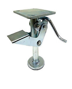 8 Floor Locks Brake With Non slip Rubber Foot For 8 X 2 Casters 1 Ea