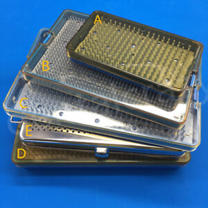 Sterilization Tray Case Box Opthalmic Surgical Instrument 5 Types