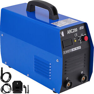 Arc 200 200 amp Stick arc mma Dc Inverter Welder 110 230v Dual Voltage Welding