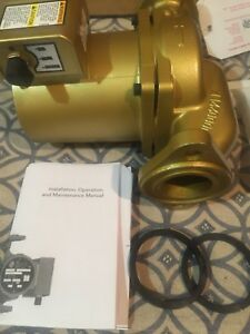 Recirculating Pump Bell Gossett 3 Speed Hot Water Recirculating Pump