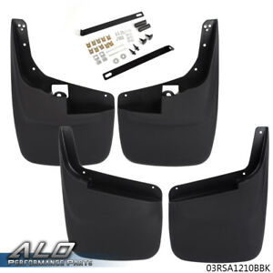 For Ford F 250 350 1999 10 Mud Flaps Without Fender Flares Guards Splash Guard