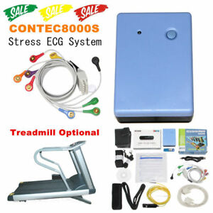 Contec8000s Stress Ecg Systems wireless Exercise 12lead Ecg Recorder Pc Software