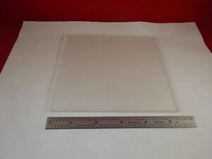 Microscope Part Carl Zeiss Germany Glass Plate Stage Optics 80 14
