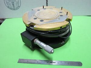 Heated Stage Micrometer For Semiconductors Bin 50