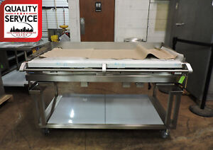 Vulcan 60rrg ckr1 Commercial Heavy Duty Gas Griddle W Equipment Stand