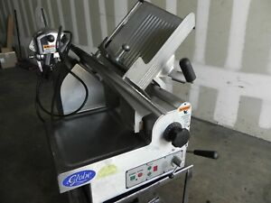 Heavy duty Automatic Slicer Globe 3850 13 Blade Automatic 2 speed Food Slicer