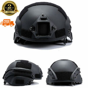 MICH2000 Helmet Outdoor Airsoft Military Tactical Combat Riding Hunting 4 Color