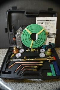Campbell Hausfeld Wt4000 Portable Oxy acetylene Torch Kit