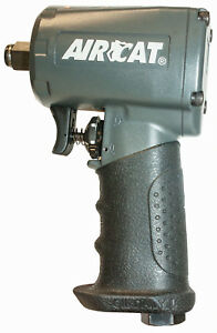 Aircat 1 2 Compact Stubby Impact Wrench 500 Ft Lbs Look 1055 th