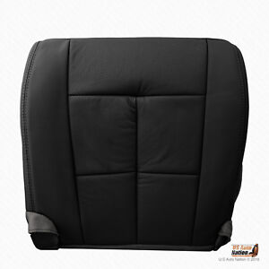 2007 To 2014 Lincoln Navigator Driver Bottom Black Perforated Leather Seat Cover
