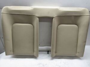 2008 Vw Beetle Convertible Rear Seat Back Upright Cushion Cream Leather
