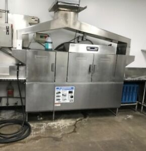 Hobart Clps86e Build Up Dishwasher Industrial High Capacity Cle